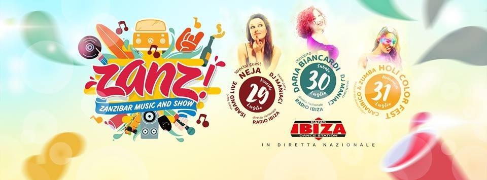Zanz - Zanzibar Music and Show. Da domani il festival a Castellammare