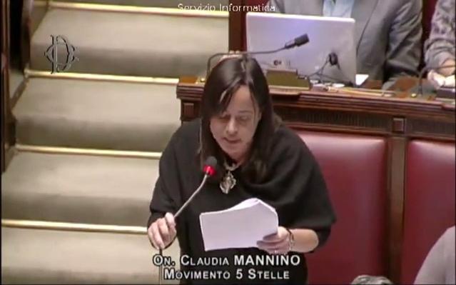 Claudia Mannino (M5S) a Trappeto. Nel pomeriggio incontro con la deputata